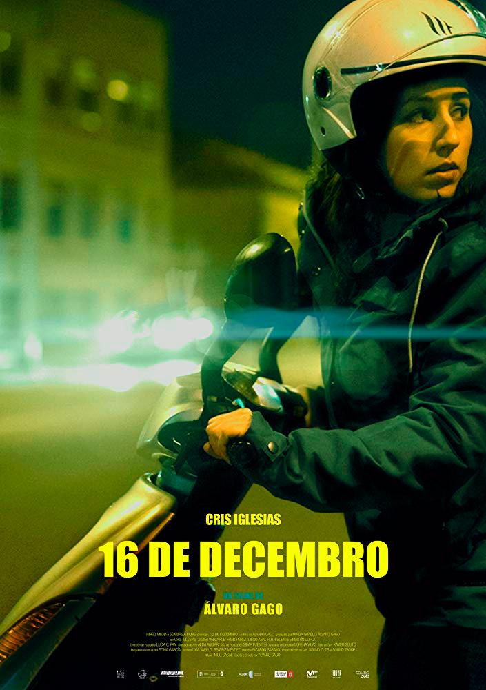 Álvaro Gago compite no certame coa súa película '16 de decembro'