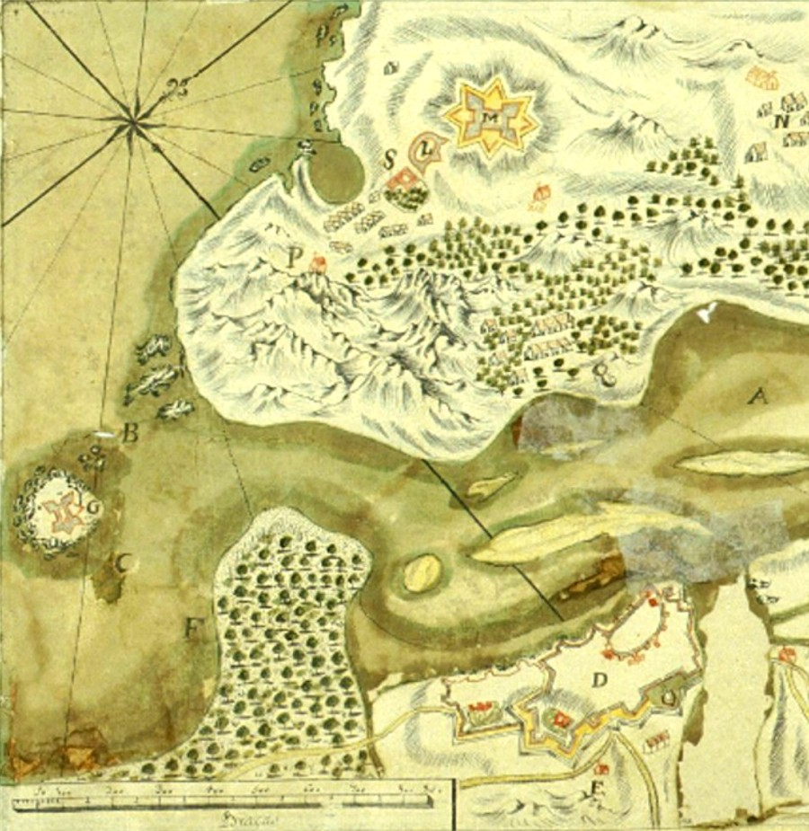 Un web desvela o rico patrimonio da guerra hispanoportuguesa do XVII