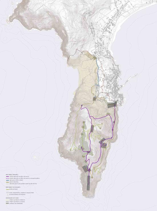 Patrimonio realizará intervencións na zona seguindo as directrices deste documento