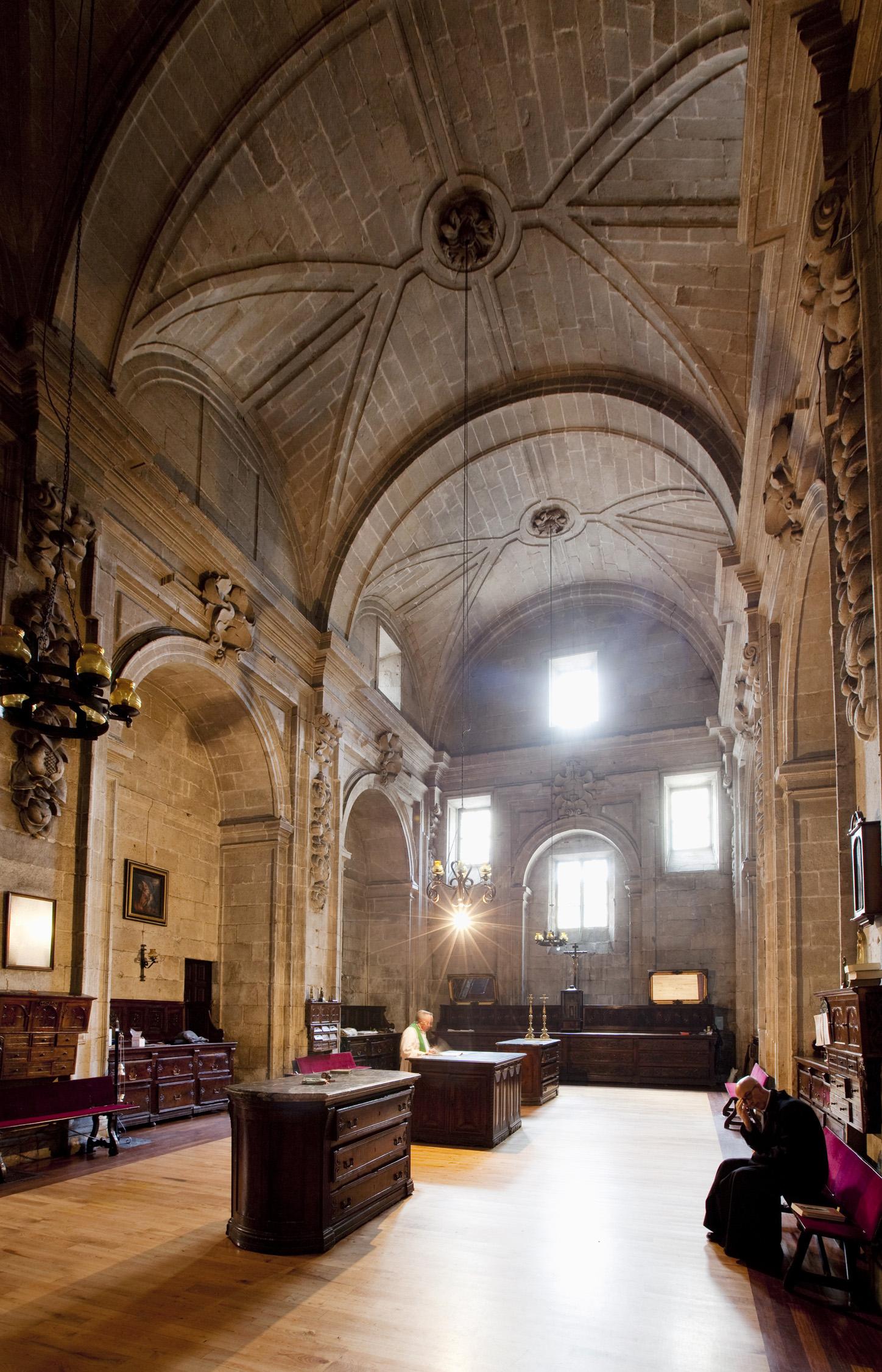 Detalle sancrist�a da catedral de Lugo. Fotos: Tino Viz (Margen fotograf�a)