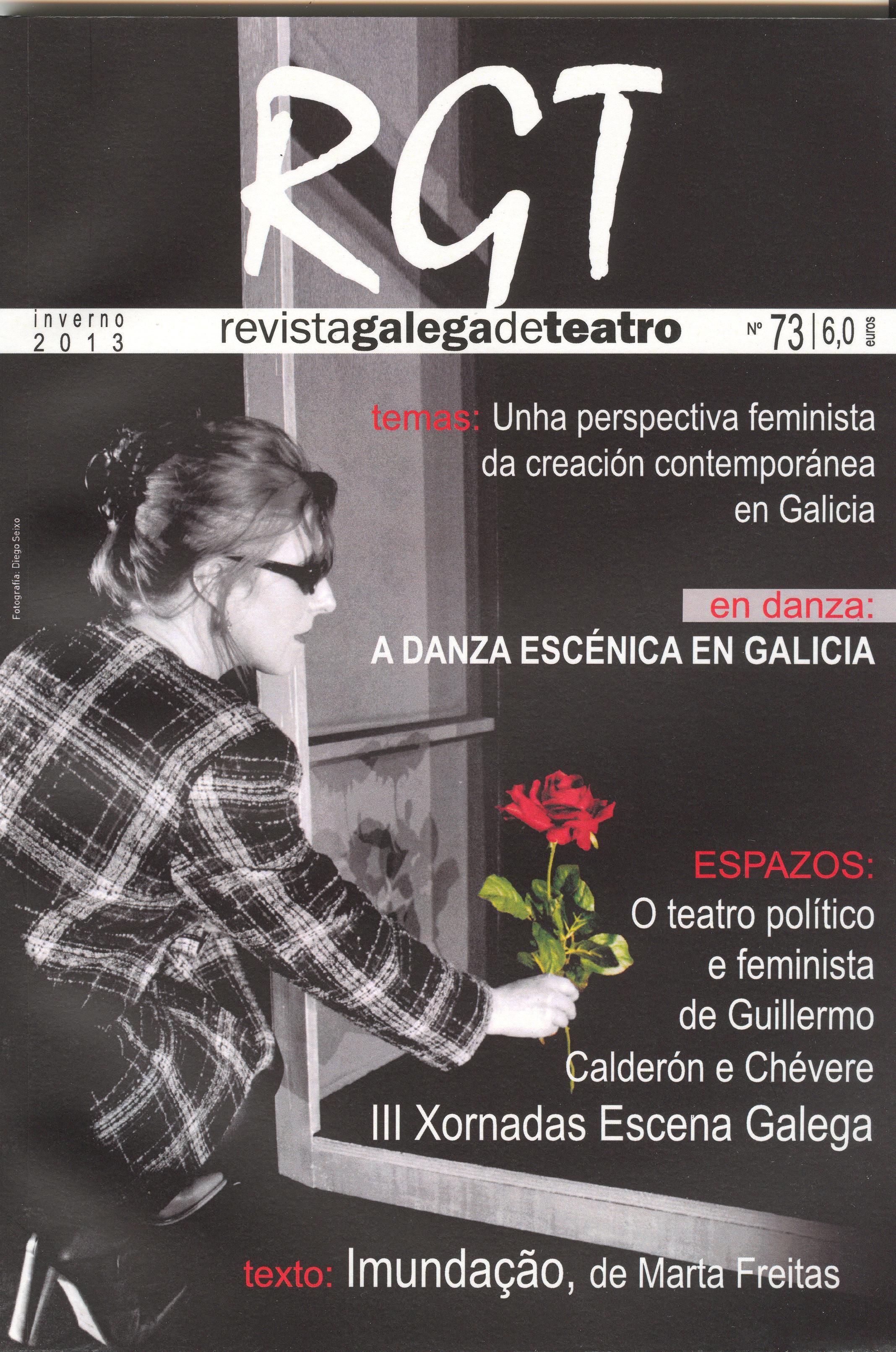 A perspectiva feminista da creación escénica neste número da Revista galega de teatro