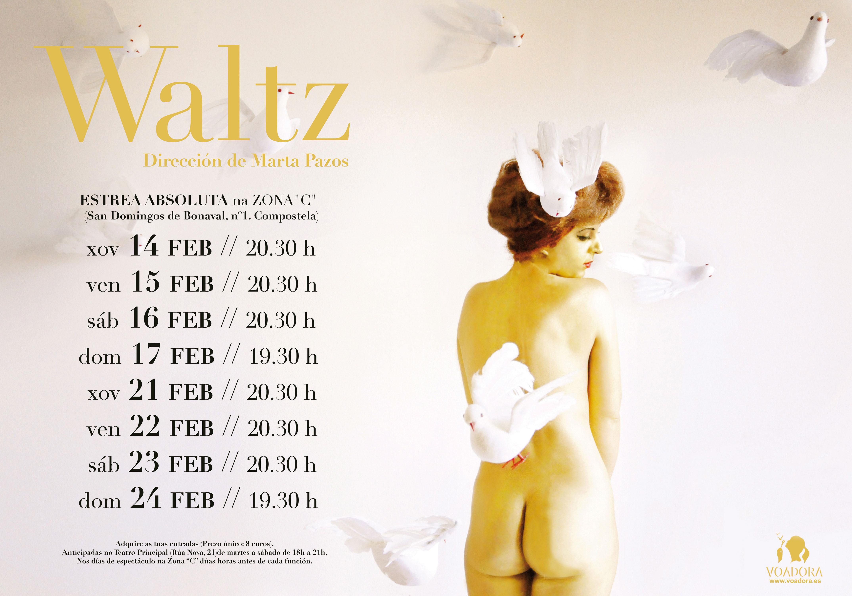 Voadora achégase á naturaleza poliédrica do amor en <i>Waltz</i>, o seu último espectáculo