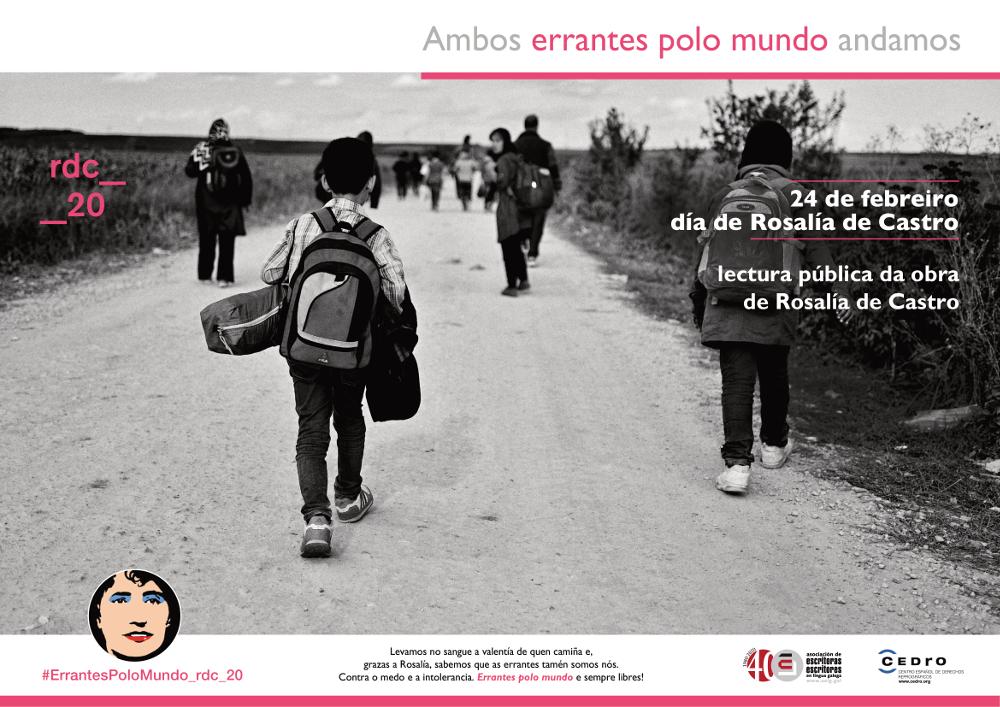 As migracións e as inxustizas sociais protagonizan as propostas escolares para este 24 de febreiro