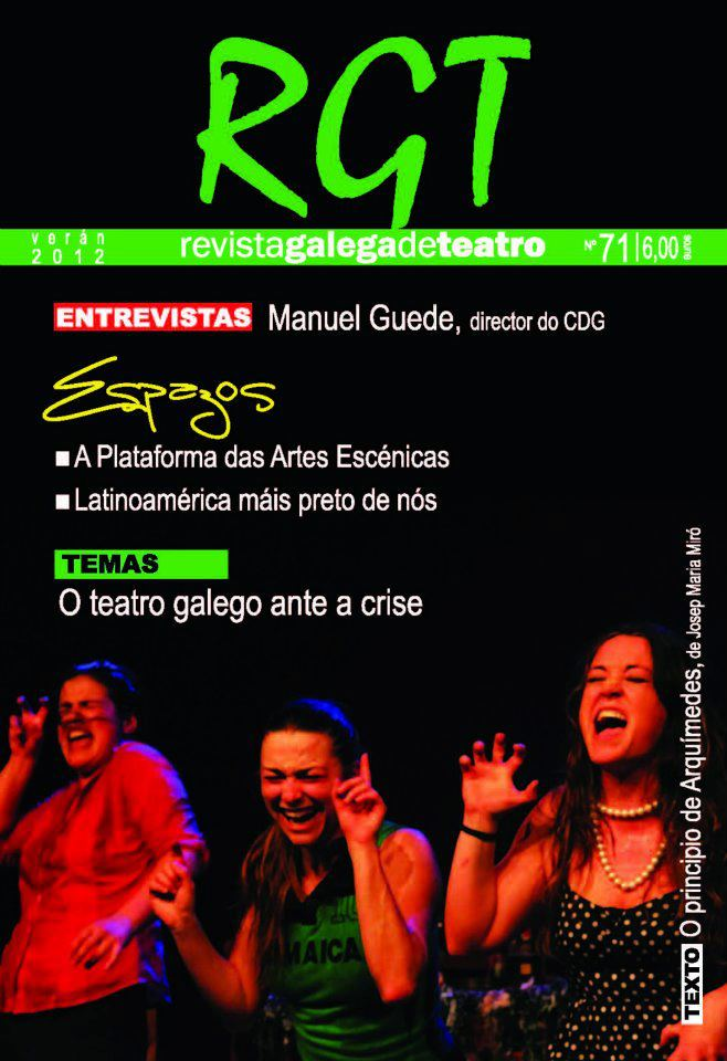 A publicación especializada en teatro presenta o seu número de verán
