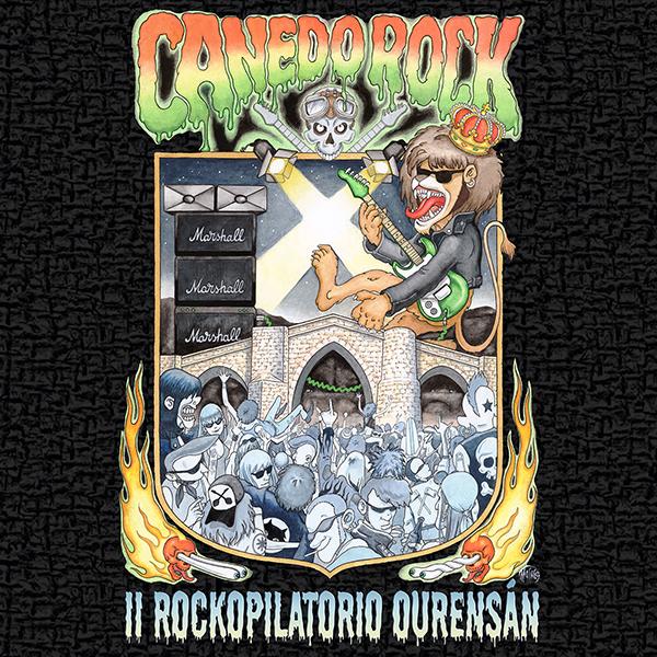 Canedo Rock lanza o <i>II Rockopilatorio Ourensán</i>