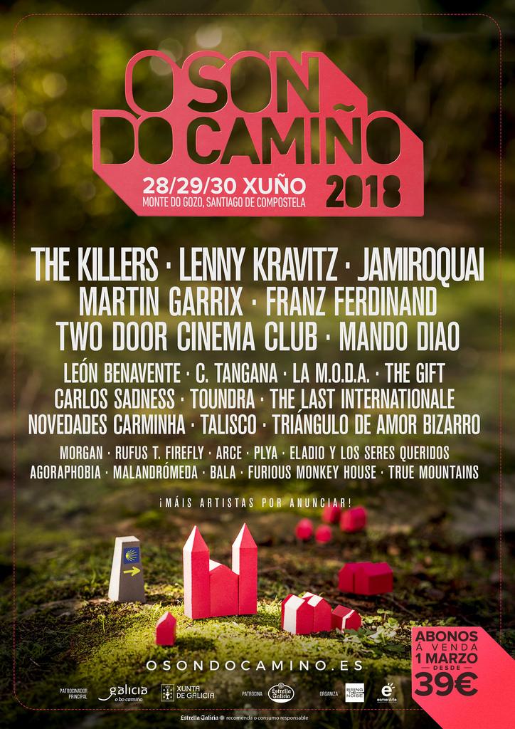 O Xacobeo 2021 lánzase internacionalmente co festival O Son do Camiño