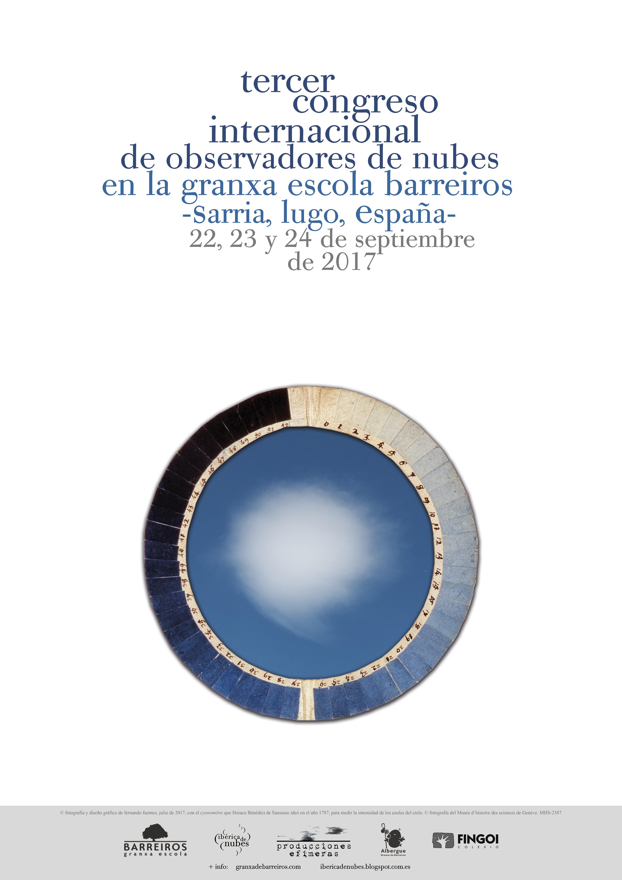 A Granxa de Barreiros acolle o III Congreso Internacional de Observadores de Nubes