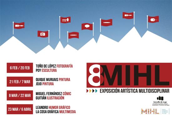 <i>8Mihl</i> amosará o traballo de parellas de creadores de diversas disciplinas