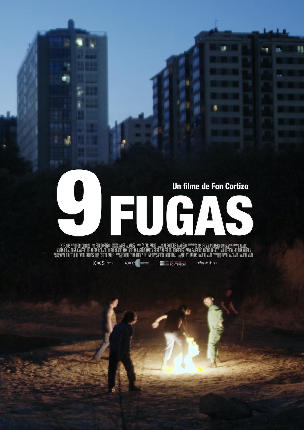 Premio internacional no festival de Xixón para a película '9 Fugas' de Fon Cortizo