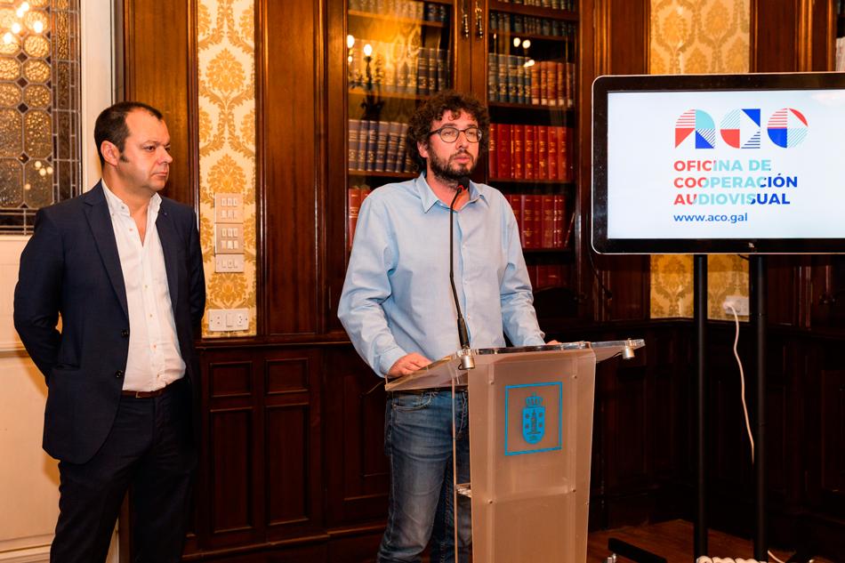 A Coruña acolle a Oficina de Cooperación da Academia Galega do Audiovisual