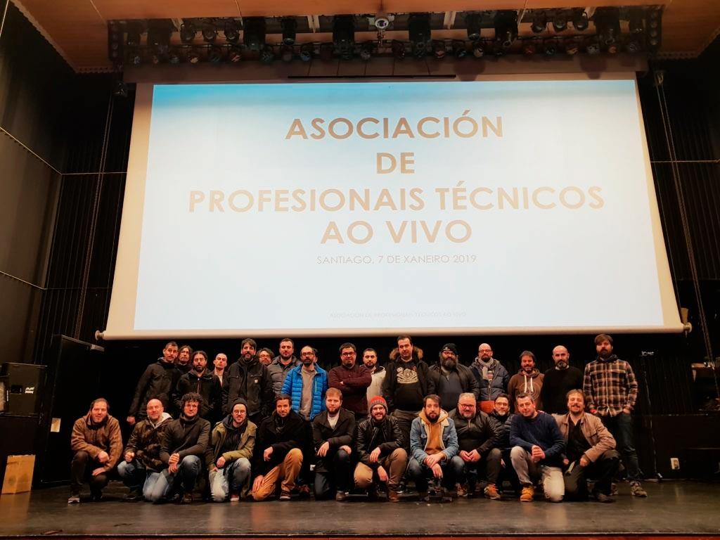 O persoal dos eventos en directo xúntase na APTV para acadar melloras na profesión
