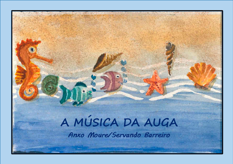 O libro-cd recolle cantos e contos arredor do ciclo dos acuíferos e da mitoloxía