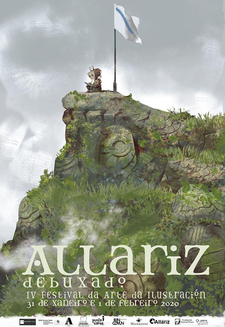 Allariz Debuxado presenta a súa cuarta edición
