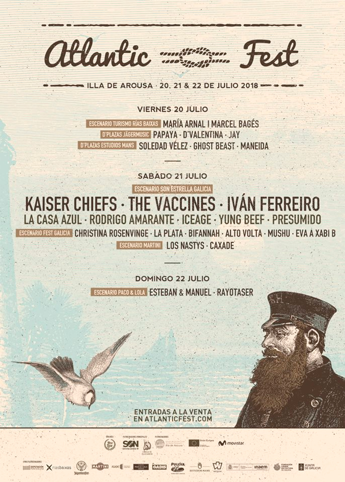 Iván Ferreiro pecha o cartel do IIIº Atlantic Fest