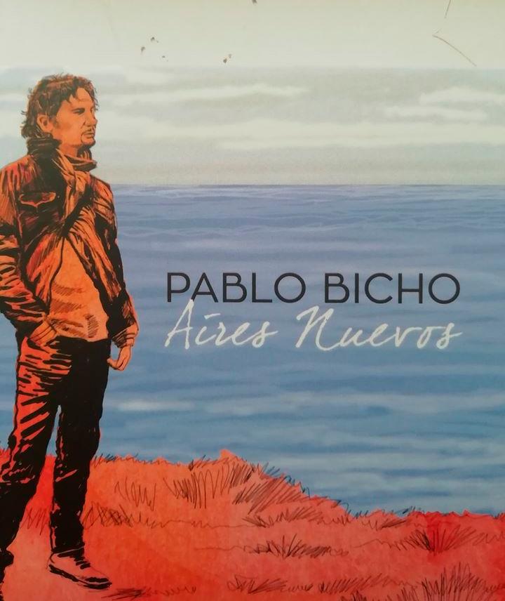 O cantautor presentou o novo disco producido por Miguel Lamas que tamén o acompaña na gravación