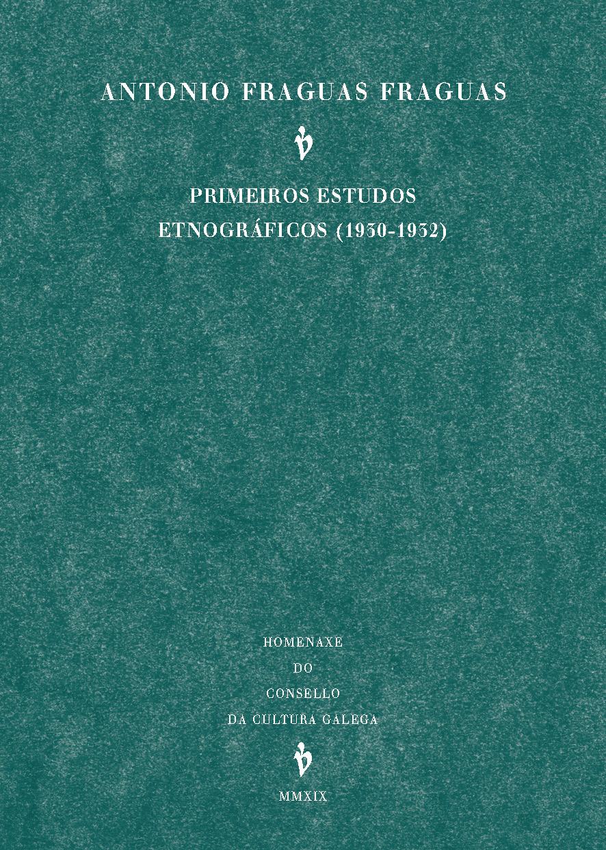 Recolle textos publicados entre 1930 e 1932