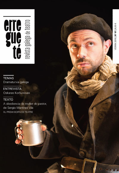 A Revista Galega de Teatro presenta hoxe a súa fonda renovación