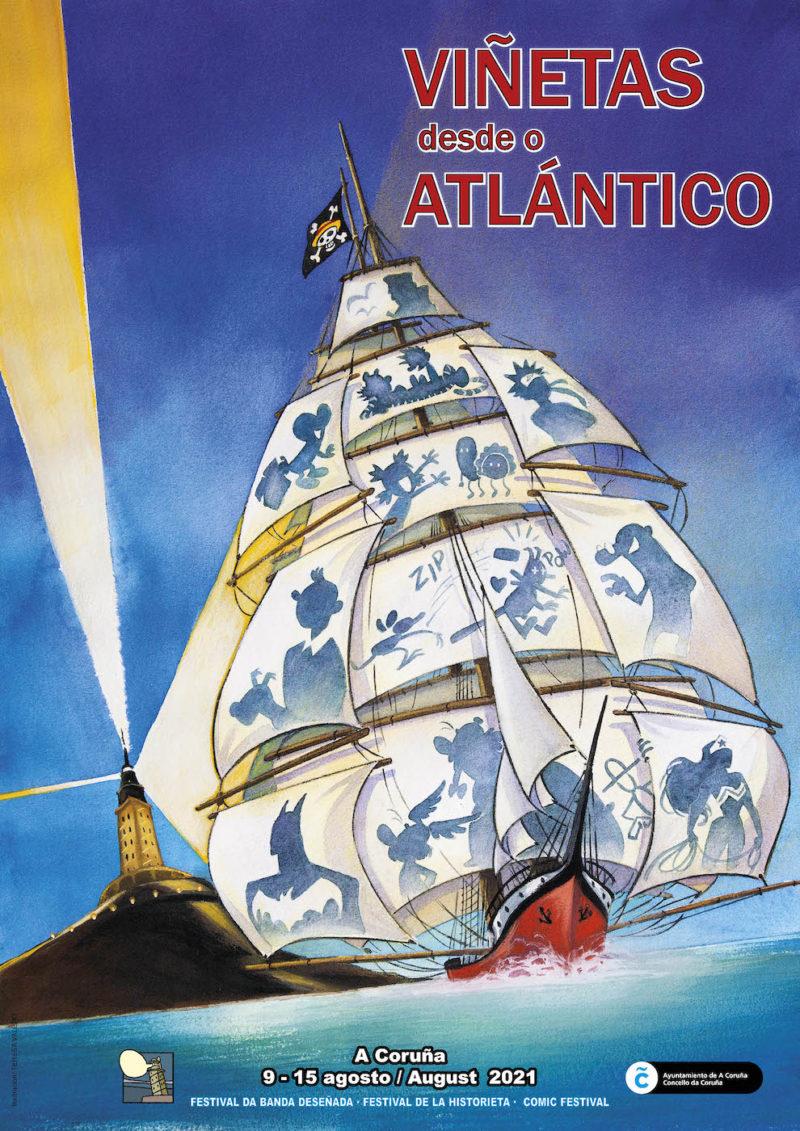 A Coruña acolle o salón da novena arte entre o 9 e o 15 de agosto