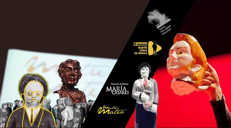 Catro premios culturais profesionais dan recoñecemento e visibilidade á creación galega