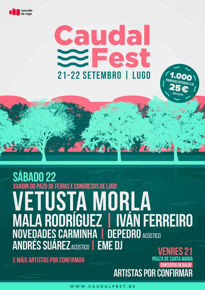 O Caudal Fest de Lugo engádese ao circuito de festivais musicais
