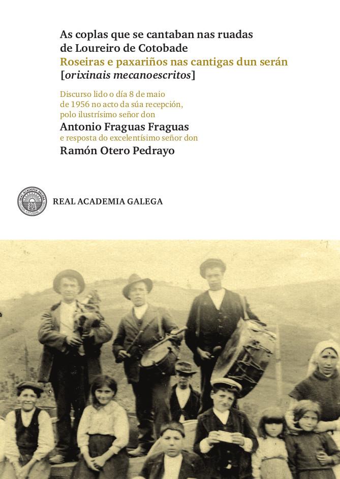 Achega facsímiles do texto orixinal e da resposta de Otero Pedrayo