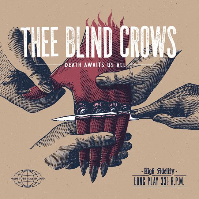 Thee Blind Crows celebra aniversario cun novo disco e con formación de trío
