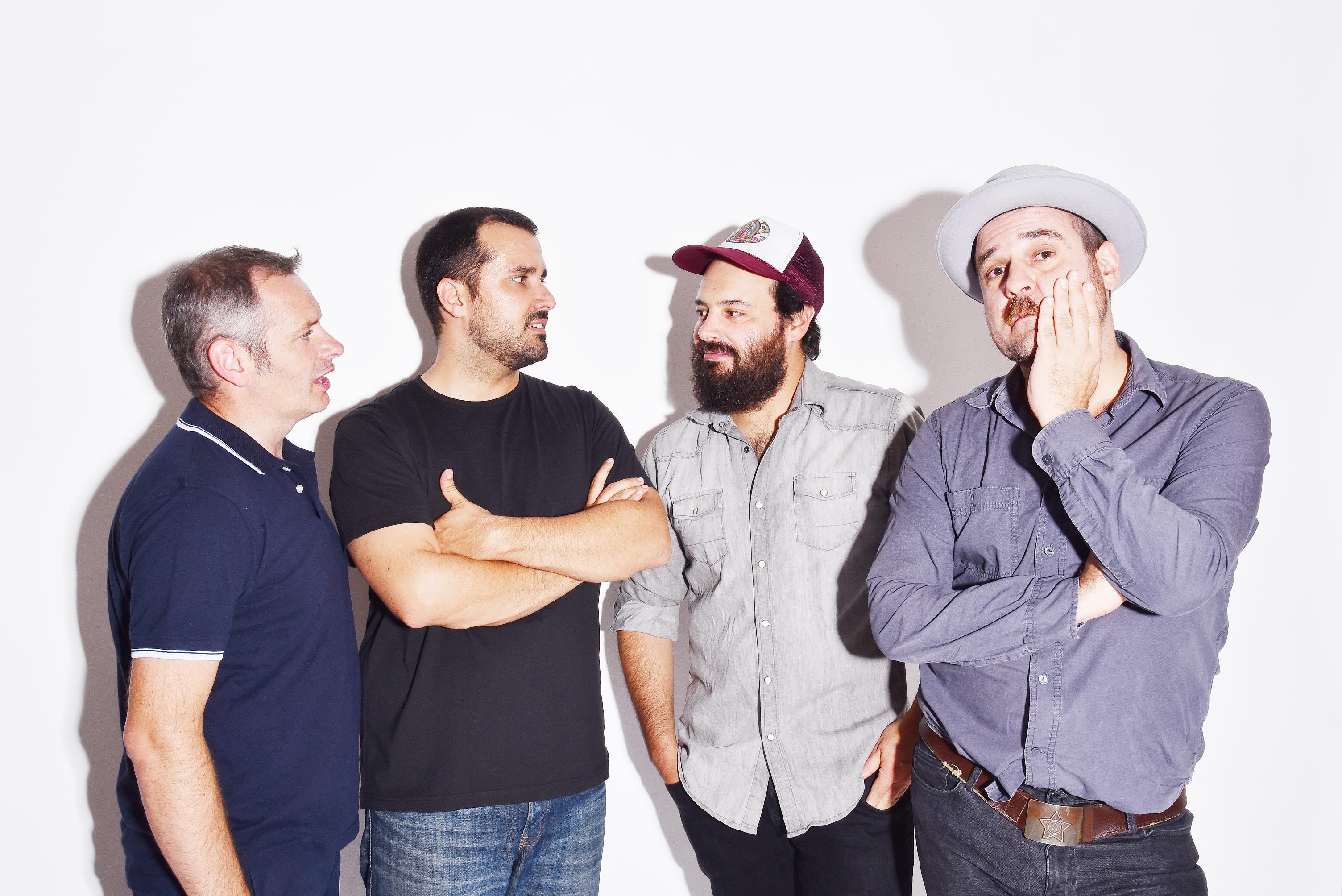 A banda saca a venda o seu quinto disco estes días
