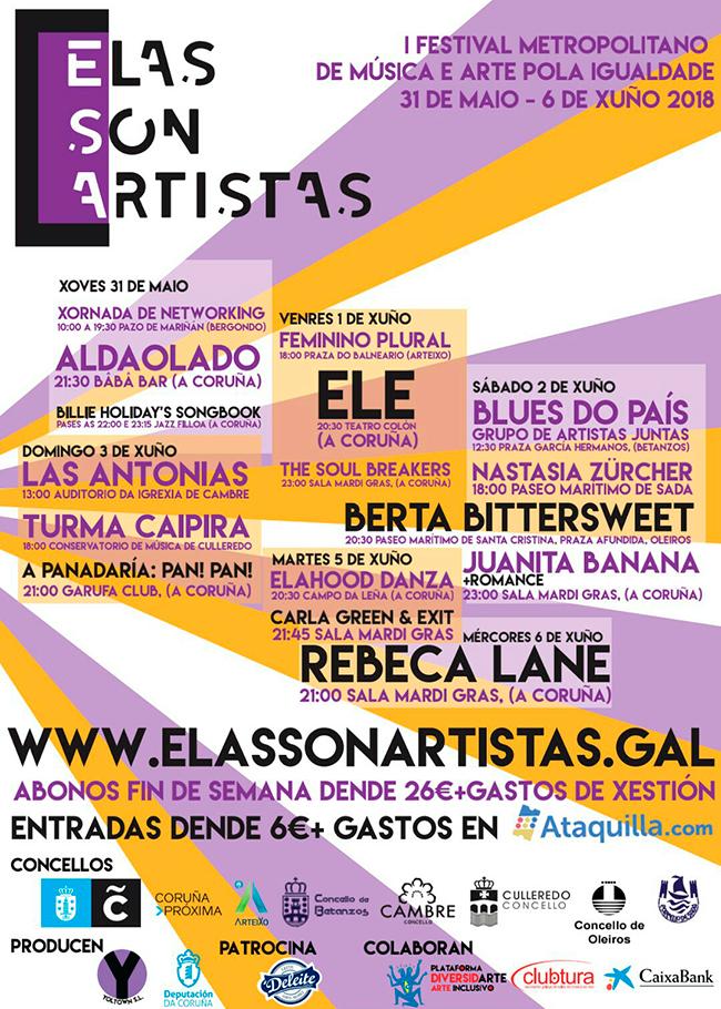 Xoel López incorpórase ao festival de Caldas e preséntanse as distribucións por días