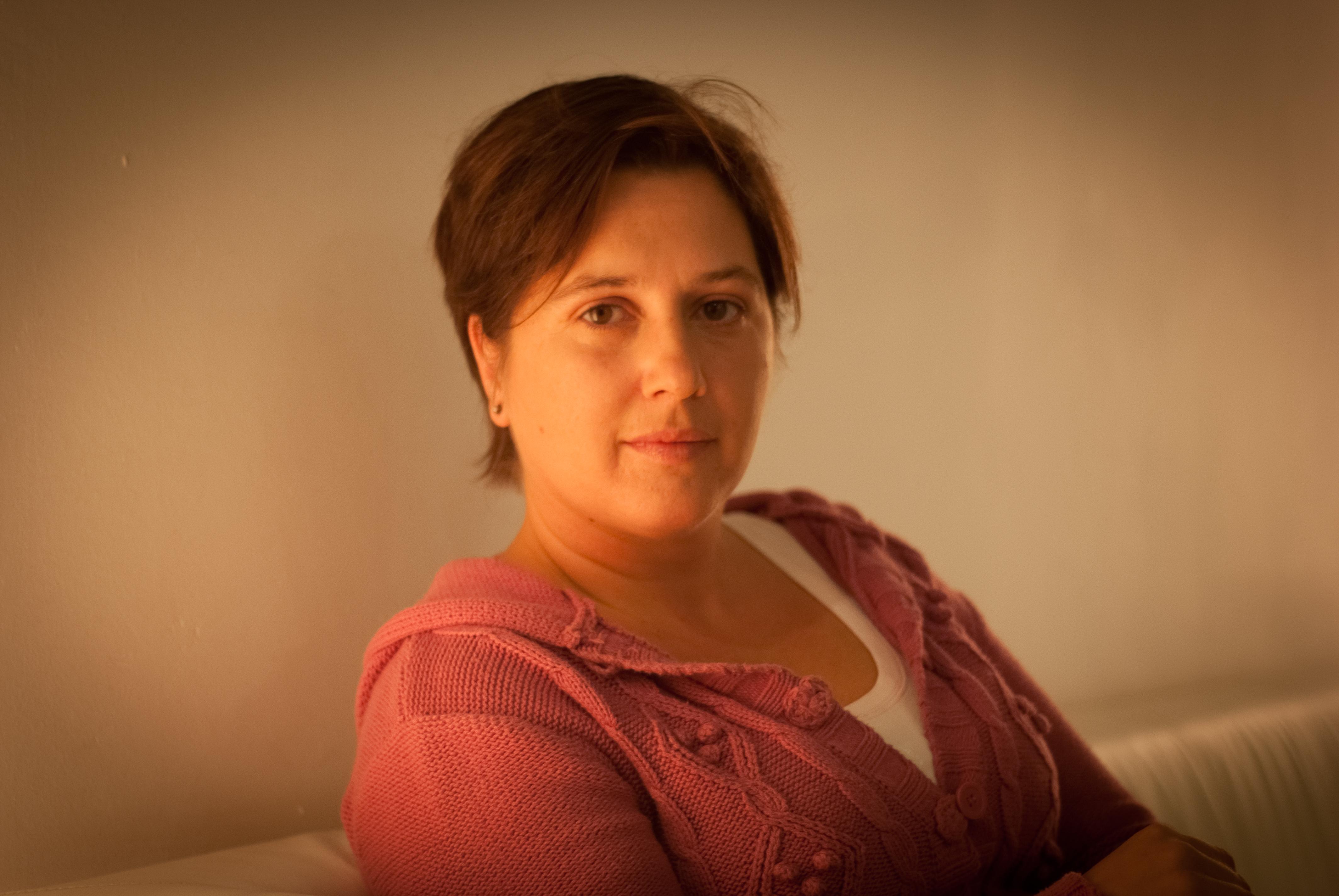A autora ofreceu en 'Culpable' un texto con hibridación de xéneros literarios