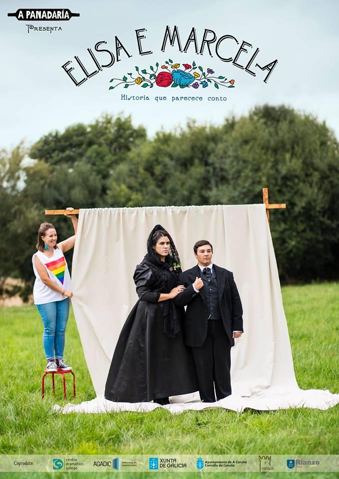 Premio de cine para a obra de teatro 'Elisa e Marcela' de A Panadaría