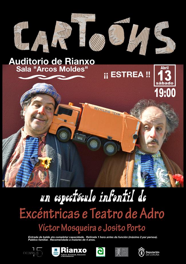 Víctor Mosqueira e Josito Porto son os creadores e protagonistas da montaxe