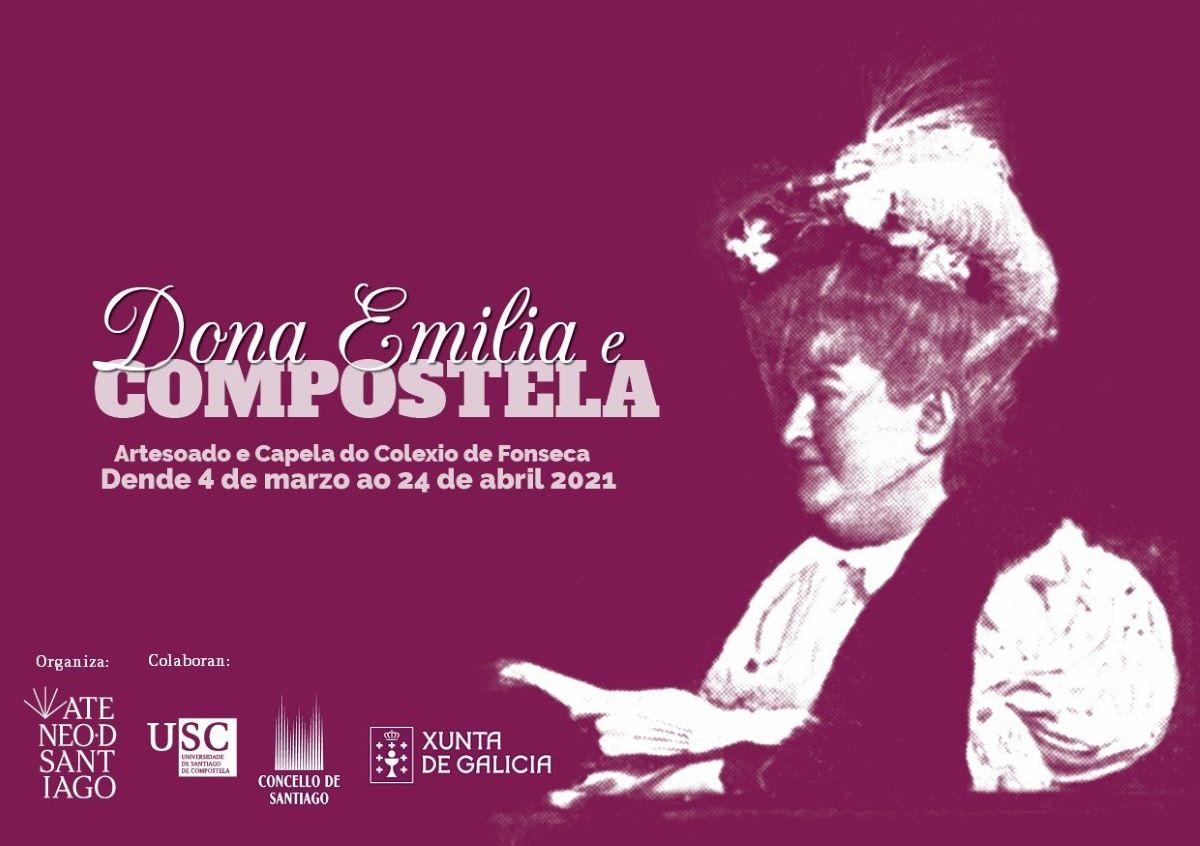 Unha exposición amosa a forza da conexión de Emilia Pardo Bazán con Santiago