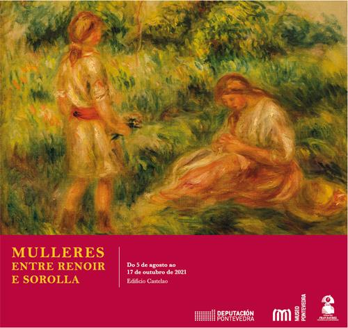 Abre a mostra 'Mulleres. Entre Renoir e Sorolla' sobre o protagonismo feminino na arte modernista