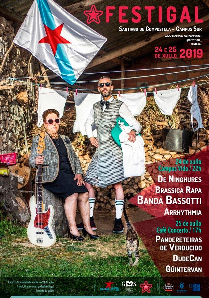 O Festigal presenta sete concertos para a súa XVIIIª edición en Compostela