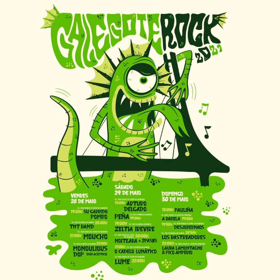 As citas cambian para manterse e ofrecen un calendario musical que comeza esta mesma fin de semana Galegote Rock