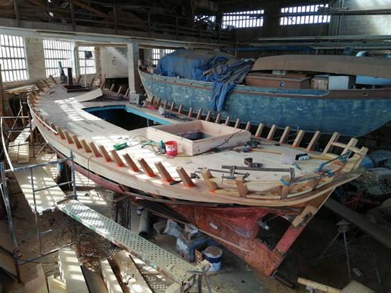 As axudas permitirán traballos de rehabilitación en catro galeóns e noutras pezas de patrimonio marítimo