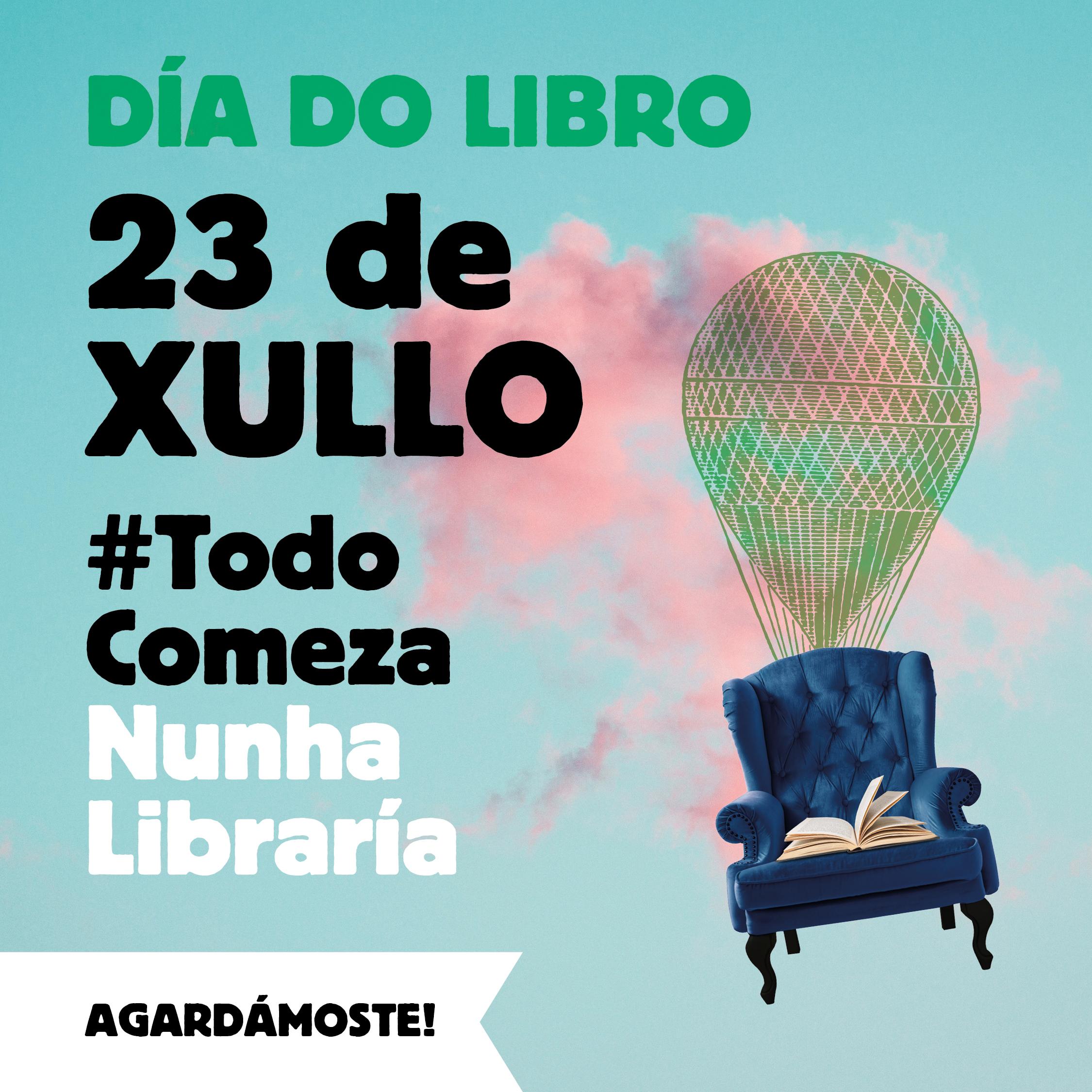 O Día do Libro celebrarase o 23 de xullo