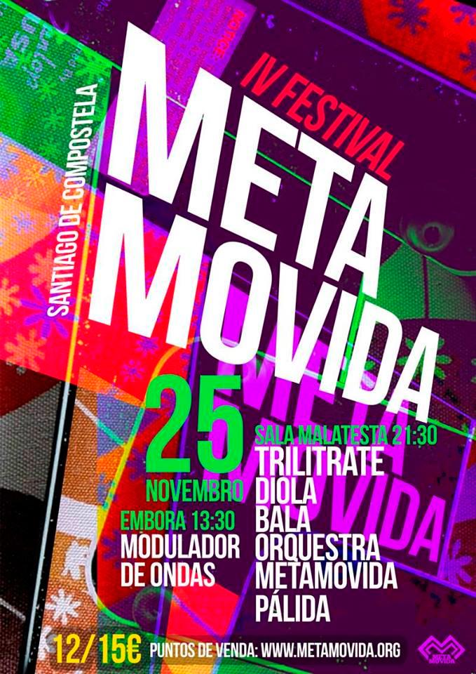 O IV Festival Metamovida reúne á escena musical alternativa