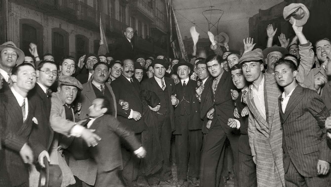 Chegada de Casares Quiroga � cidade da Coru�a (marzo, 1931) Arquivo Cancelo