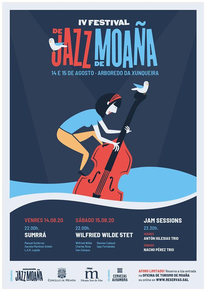 As citas de verán co jazz mantéñense co acento máis galego
