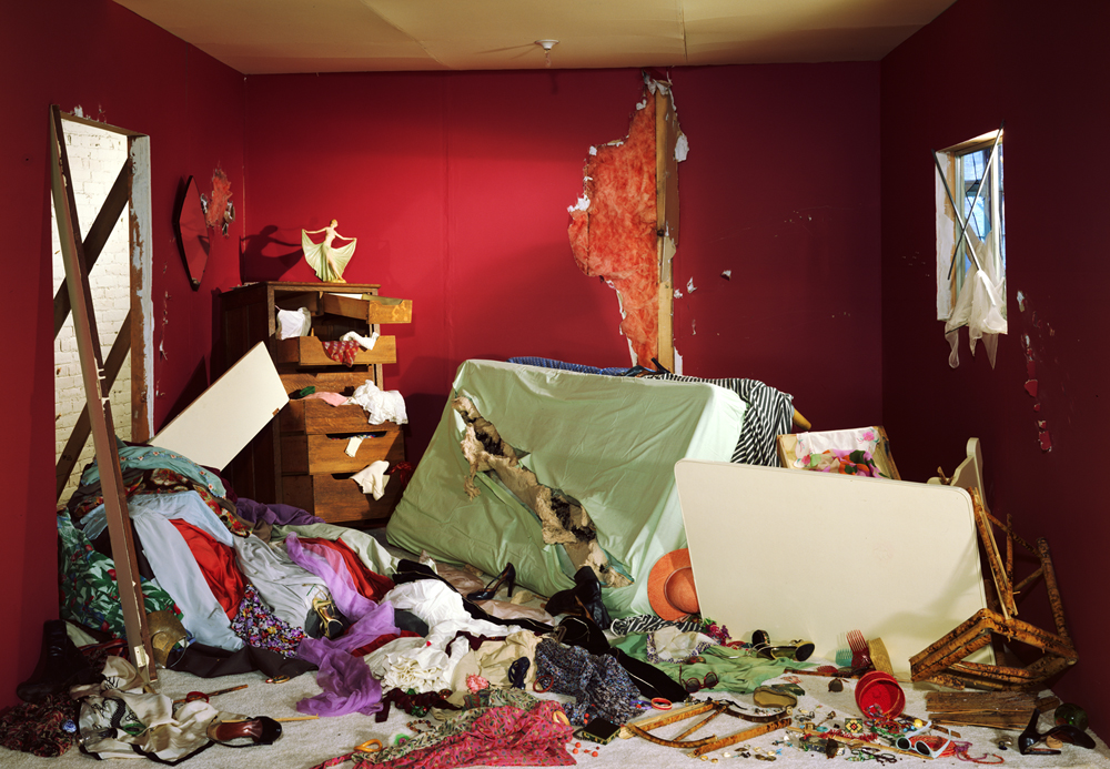 The Destroyed Room, 1978. Jeff Wall
