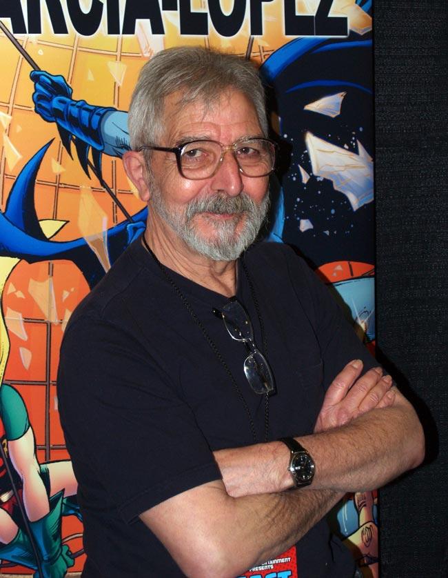 O autor de banda deseñada fixo unha extensa carreira traballando nas principais series de DC Comics