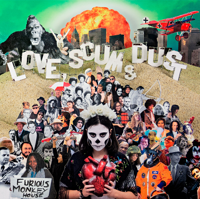 Furious Monkey House confírmanse con <i>Love, scum & dust</i>