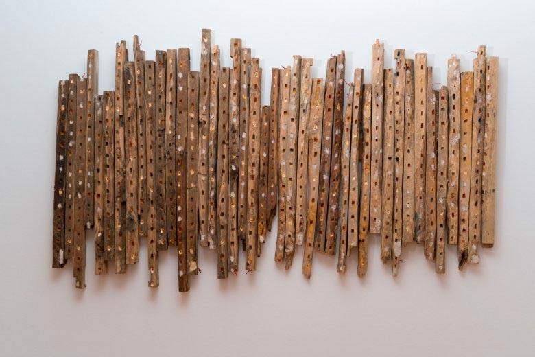 A mostra e a cuarta dentro do ciclo 'METRÓPOLE. Perspectiva urbana da arte galega'