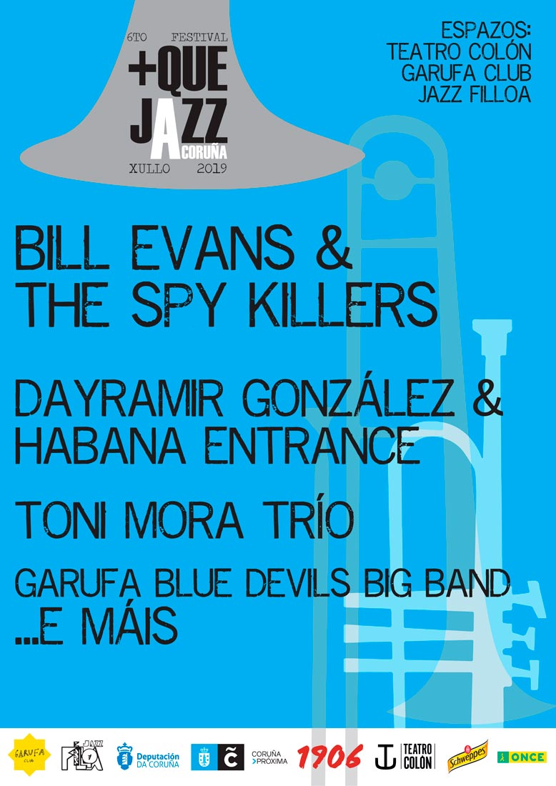 A cita está encabezada por Bill Evans & The Spy Killers