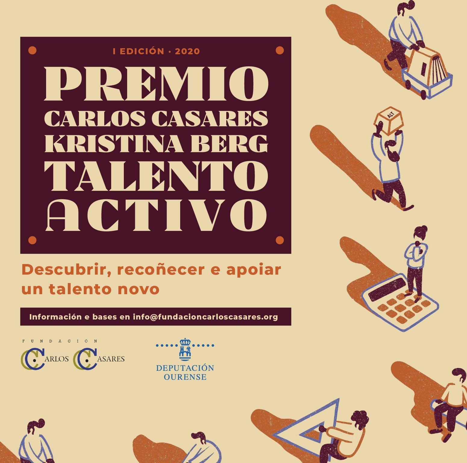 O creador foi galardoado co Premio Carlos Casares-Kristina Berg ao talento activo 2020