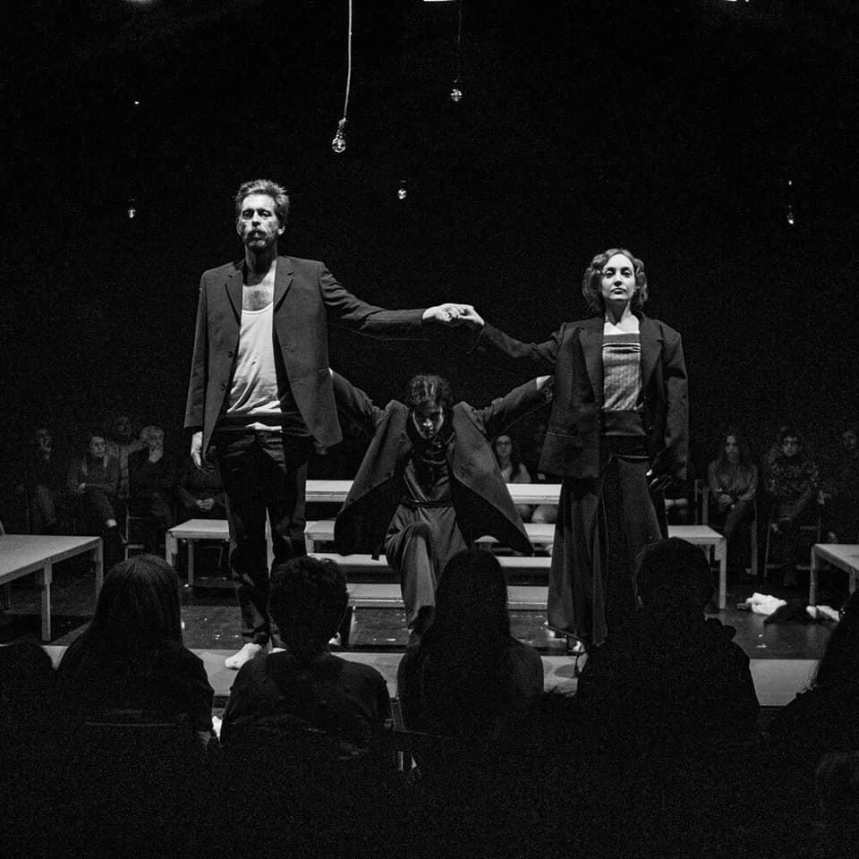 O espectáculo coproducido pola compañía Paloma Lugilde e o CDG fará este sábado dobre función a Santiago