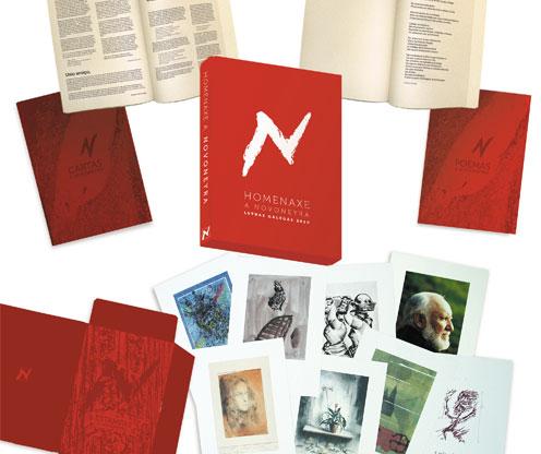 Unha reedición recupera cartas, debuxos e textos en homenaxe ao protagonista do Día das Letras 2010