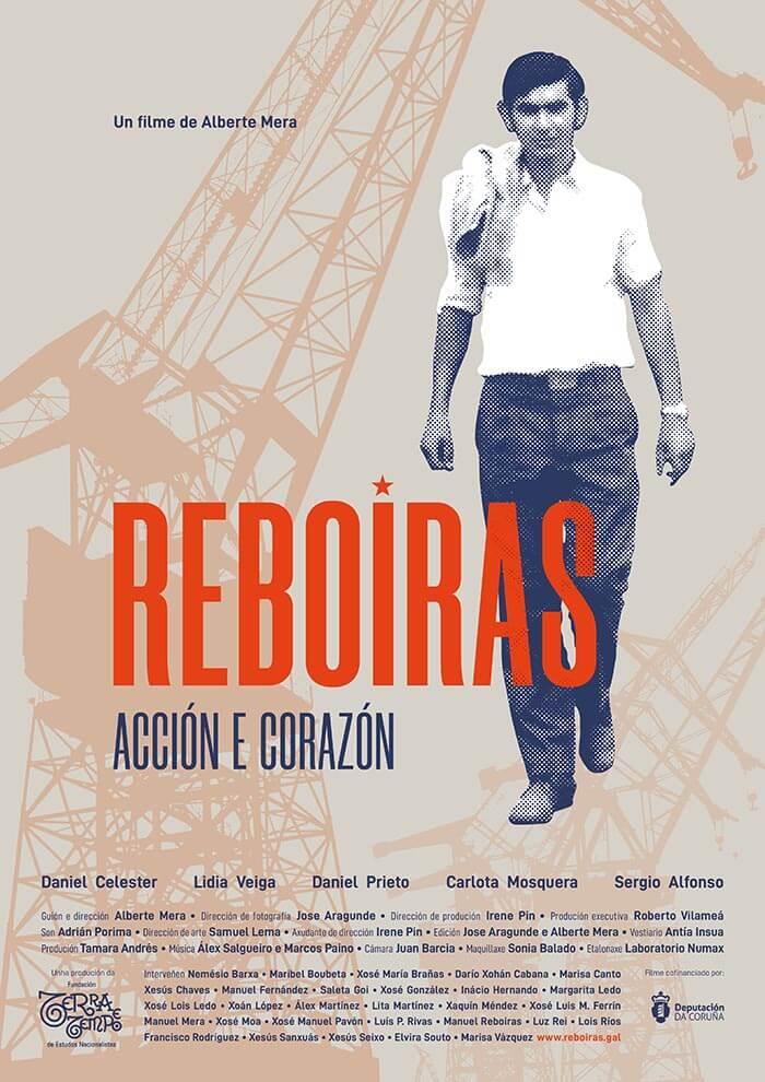 O filme 'Reboiras, acción e corazón' estrearase en Ferrol no 45 aniversario da súa morte