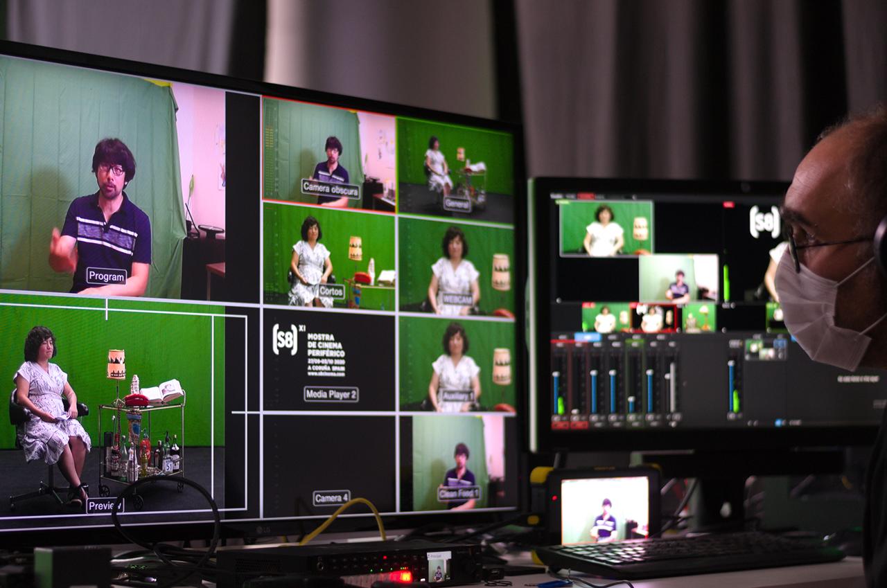 A Mostra de Cinema Periférico presenta un formato dual de actividades presenciais e contidos deseñados para a rede